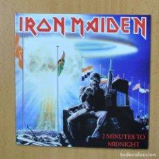 Discos de vinilo: IRON MAIDEN - 2 MINUTES TO MIDNIGHT - SINGLE. Lote 270555263