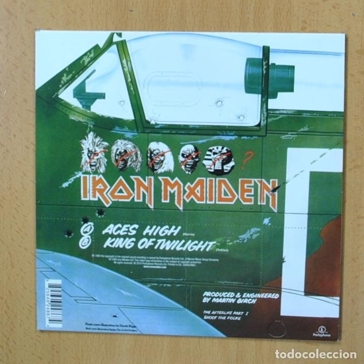 Discos de vinilo: IRON MAIDEN - ACES HIGH - SINGLE - Foto 2 - 270555273