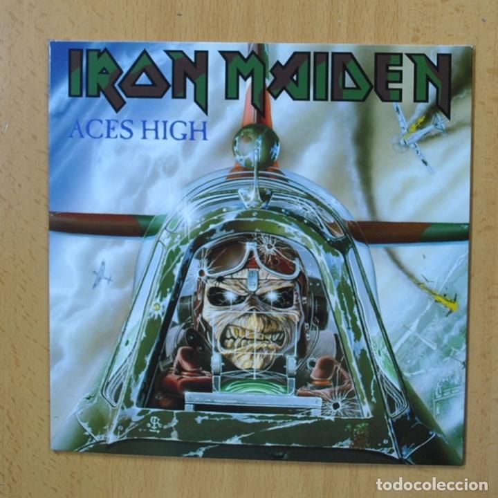 IRON MAIDEN - ACES HIGH - SINGLE (Música - Discos - Singles Vinilo - Heavy - Metal)