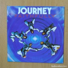Discos de vinilo: JOURNEY - FAITHFULLY - SINGLE. Lote 270555303