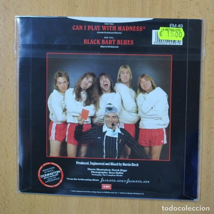 Discos de vinilo: IRON MAIDEN - CAN I PLAY WITH MADNESS - SINGLE - Foto 2 - 270555338