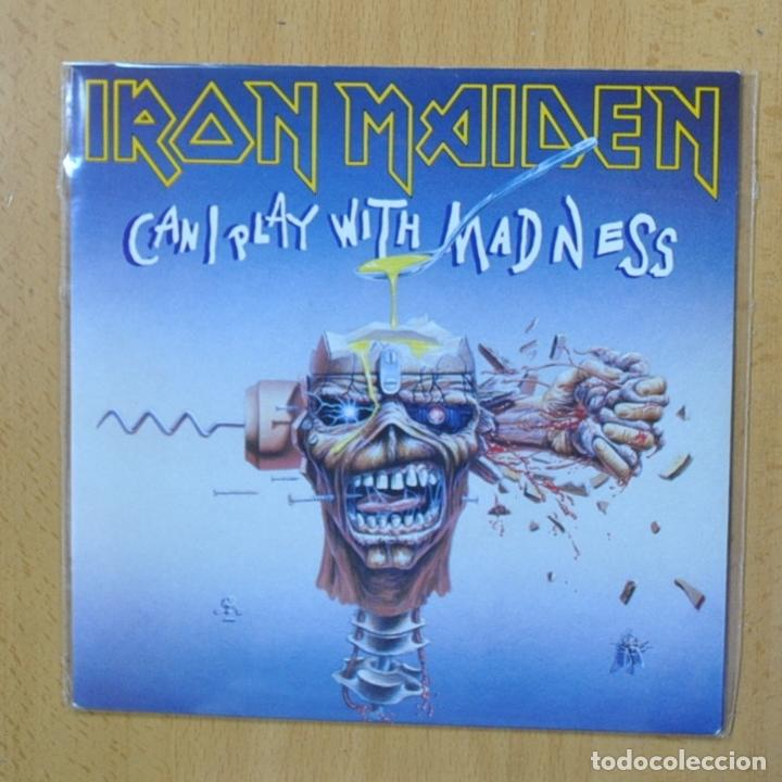 IRON MAIDEN - CAN I PLAY WITH MADNESS - SINGLE (Música - Discos - Singles Vinilo - Heavy - Metal)