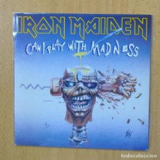 Discos de vinilo: IRON MAIDEN - CAN I PLAY WITH MADNESS - SINGLE. Lote 270555338