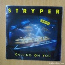 Discos de vinilo: STRYPER - CALLING ON YOU - SINGLE. Lote 270555348