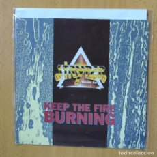 Discos de vinilo: STRYPER - KEEP THE FIRE BURNING - SINGLE. Lote 270555353