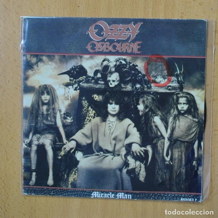 OZZY OSBOURNE - MIRACLE MAN - SINGLE (Música - Discos - Singles Vinilo - Heavy - Metal)