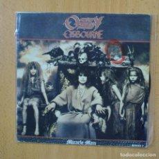 Discos de vinilo: OZZY OSBOURNE - MIRACLE MAN - SINGLE. Lote 270555363