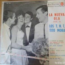 Discos de vinilo: LOS TNT Y TITO MORA. Lote 270560203