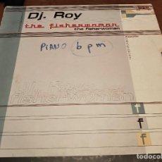 """Discos de vinilo: DJ. ROY* – THE FISHERWOMAN SELLO: BIT PROGRESSIVE MUSIC – 71-489 (12"""").1999. VG / G+. Lote 270562273"""