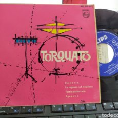 Discos de vinilo: TORQUATO Y LOS 4 EP RENATTA + 3 ESPAÑA 1963. Lote 270564378