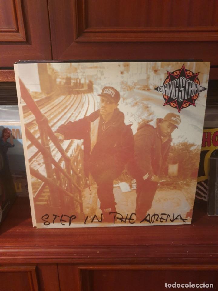 GANG STARR / STEP IN THE ARENA / NOT ON LABEL (Música - Discos - LP Vinilo - Rap / Hip Hop)