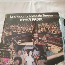 Discos de vinilo: UNA CIGARRA LLAMADA TERESA, TERESA RABAL. Lote 270573043