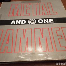 """Discos de vinilo: AND ONE – METALHAMMER MAX MUSIC – NM 491 MA,12"""", MAXI 1991. VG / VG. Lote 270573623"""