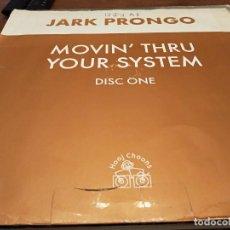 "Discos de vinilo: JARK PRONGO – MOVIN' THRU YOUR SYSTEM. HOOJ CHOONS – HOOJ 72 FORMATO: VINYL, 12"". VG / VG. Lote 270574748"