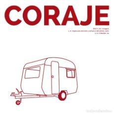 Discos de vinilo: CORAJE - EDICION VINILO DISCOS WALDEN 2014. Lote 270576078