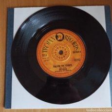 Discos de vinilo: GREYHOUND - FOLLOW THE LEADER / FUNKY JAMAICA (TROJAN RECORDS, UK, 1971). Lote 270578778