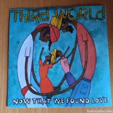 Discos de vinilo: THIRD WORLD - NOW THAT WE'VE FOUND LOVE (ISLAND RECORDS, UK, 1978). Lote 270579453