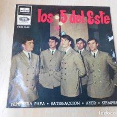 Discos de vinilo: 5 DEL ESTE, LOS, EP, PEPE SERÁ PAPÁ + 3, AÑO 1965. Lote 270580383