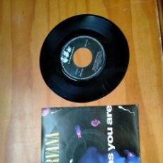 Discos de vinilo: VINILO SINGLE DE NIRVANA. Lote 270586288