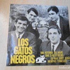 Discos de vinilo: GATOS NEGROS, LOS, EP, UNA ROTONDA SUL MARE + 3, AÑO 1965. Lote 270587983