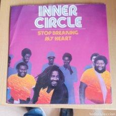 Discos de vinilo: INNER CIRCLE - STOP BREAKING MY HEART (ISLAND RECORDS, UK, 1979). Lote 270590593