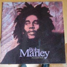 Discos de vinilo: BOB MARLEY - IRON LION ZION (TUFF GONG, UK, 1992). Lote 270594538