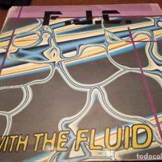 """Discos de vinilo: F.J.C. – GO WITH THE FLUID SELLO: GLASS RECORDS – GL-034 FORMATO: VINYL, 12"""". 1997. VG / VG. Lote 270600708"""