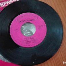 Discos de vinilo: DISCO SORPRESA FUNDADOR EP MIGUEL RAMOS MÚSICA DE BAILE 1968. Lote 270608078