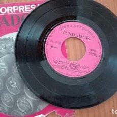 Discos de vinilo: DISCO SORPRESA FUNDADOR EP ALFREDO 1968. Lote 270609768
