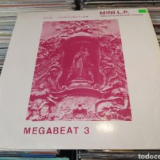 Discos de vinilo: THE SUN CORPORATION–MEGABEAT 3 . MINI ÁLBUM 1990 SPAIN.. Lote 270610653