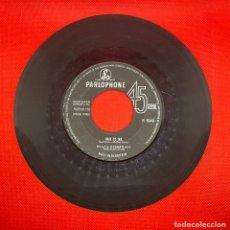 Discos de vinilo: BILLY J. KRAMER BAD TO ME / I CALL YOUR NAME ORIGINAL 1963 UK SINGLE PARLOPHONE R5049 BEATLES. Lote 270610833