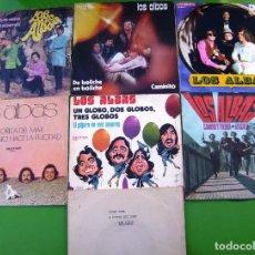 Discos de vinilo: LOTE DE 7 SINGLES DE LOS ALBAS. Lote 270611358