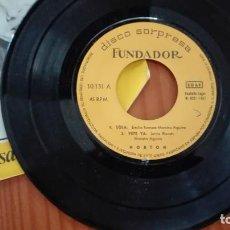Discos de vinilo: DISCO SORPRESA FUNDADOR EP NORTON 1967. Lote 270613233