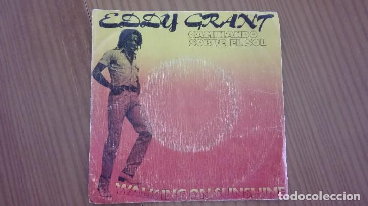 EDDY GRANT WALKING ON SUNSHINE SINGLE MOVIEPLAY 1979 (Música - Discos de Vinilo - EPs - Reggae - Ska)