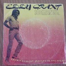 Discos de vinilo: EDDY GRANT WALKING ON SUNSHINE SINGLE MOVIEPLAY 1979. Lote 270617778