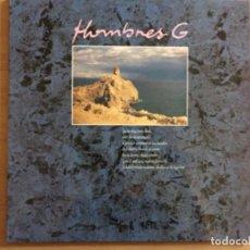 Discos de vinilo: HOMBRES G. HUELLAS EN LA BAJAMAR. TEMBLANDO. (VINILO MAXI-SINGLE) 1987. Lote 270619903