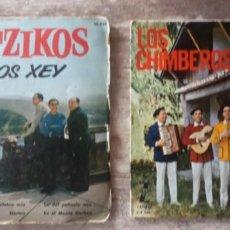 Discos de vinilo: 2 SINGLES LOS XEY - LOS CHIMBEROS. Lote 270627318