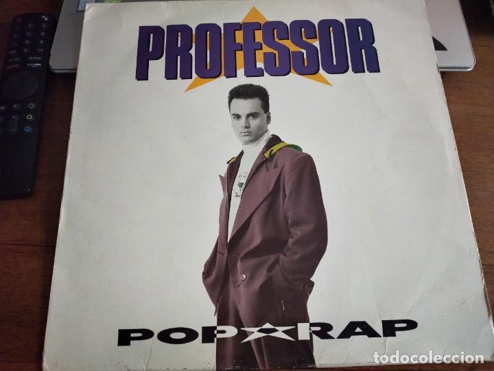 PROFESSOR - POP RAP - EMI-ODEON 076 7962271 - 1991. VG+ / VG+ (Música - Discos - LP Vinilo - Rap / Hip Hop)
