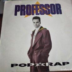 Discos de vinilo: PROFESSOR - POP RAP - EMI-ODEON 076 7962271 - 1991. VG+ / VG+. Lote 270631483