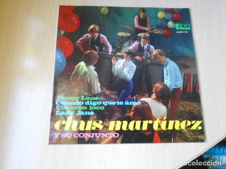 CHUS MARTINEZ Y SU CONJUNTO, EP, PENNY LANE + 3, AÑO 1967 (Música - Discos de Vinilo - EPs - Grupos Españoles 50 y 60)