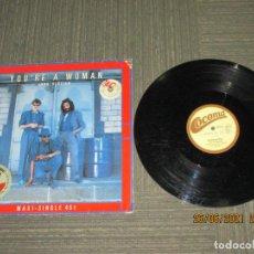 Discos de vinilo: BAD BOYS BLUE - YOU´RE A WOMAN - MAXI - EUROPA - COCONUT - REF 601 673 - IBL -. Lote 270645398