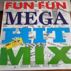 """Discos de vinilo: FUN FUN – MEGA HIT MIX SELLO: MAX MUSIC – MAX 295. 12"""", NUEVO. MINT / MINT. ITALO DISCO. Lote 270651893"""