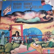 "Discos de vinilo: SUGAR SHAKE (2) – START THAT FEELING BMS RECORDS – BMS 302.12"". 1986 .COMO NUEVO. MINT / NEAR MINT. Lote 270661848"