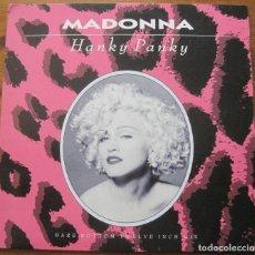 """Discos de vinilo: MADONNA, HANKY PANKY 12"""". Lote 270687083"""