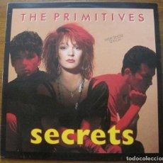 """Discos de vinilo: THE PRIMITIVES, SECRETS 12"""". Lote 270748223"""