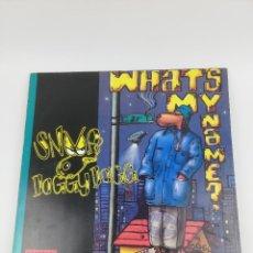 Discos de vinilo: SNOOP DOGGY DOGG WHATS MY NAME? 1993 LP. Lote 270751938