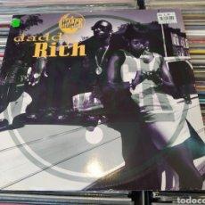 Discos de vinilo: HIJACK–DADDY RICH. MAXI VINILO EDICION 1991. HIP HOP GANGSTA. BUEN ESTADO.. Lote 270856408