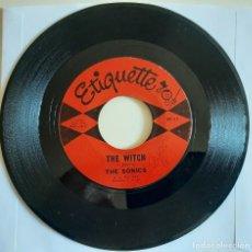 "Discos de vinilo: THE SONICS THE WITCH / KEEP A KNOCK'IN 45 RARO ORIGINAL US 1964 ETIQUETTE RECORDS 7"". Lote 270858823"