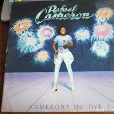 Discos de vinilo: RAFAEL CAMERON – CAMERON'S IN LOVE. SALSOUL RECORDS – SA-8542. (LP). VINILO COMO NUEVO.MINT / VG. Lote 270859983