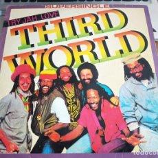 "Discos de vinilo: THIRD WORLD - TRY JAH LOVE (12"", MAXI) 1982. CBS,CBSA 12.2063. VINILO COMO NUEVO. MINT / VG. Lote 270861403"